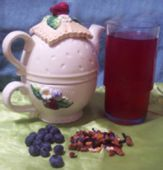 Canadian Blueberry & Honey Iced Tea