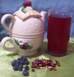 Blueberry & Honey Iced Tea